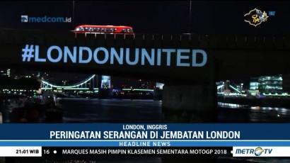 Peringatan Setahun Serangan Teror di Jembatan London