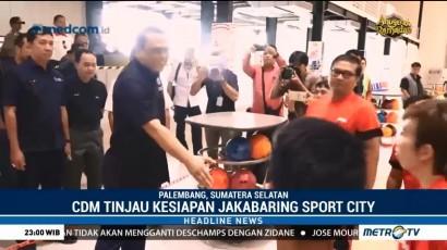 CdM Asian Games Tinjau Kesiapan Jakabaring Sport City