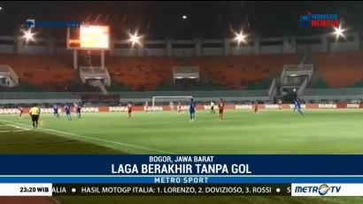 Laga Indonesia vs Thailand Berakhir Tanpa Gol