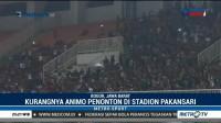 Laga Timnas Indonesia vs Thailand Sepi Penonton