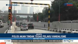 Polda Metro Jaya Bentuk Tim untuk Cari Pelaku Vandalisme