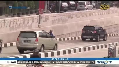 Underpass Mampang-Kuningan Sudah Bersih dari Coretan