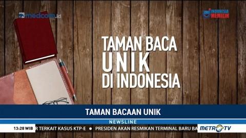 Daftar Taman Baca Unik di Indonesia