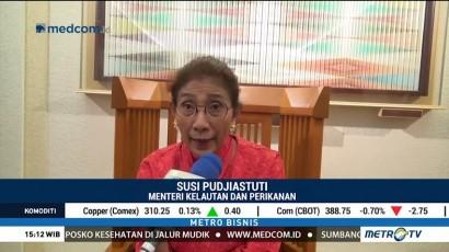 Menteri Susi Minta Jepang Bebaskan Bea Masuk Produk Perikanan Indonesia