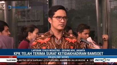 KPK Jadwalkan Ulang Pemeriksaan Bamsoet
