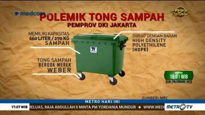 Ini Spesifikasi Tong Sampah Milik Pemprov DKI dari Jerman