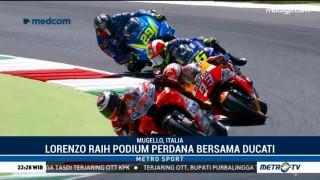 Lorenzo Raih Podium Perdana Bersama Ducati