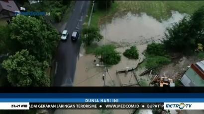 Banjir Landa Sebagian Wilayah di Polandia