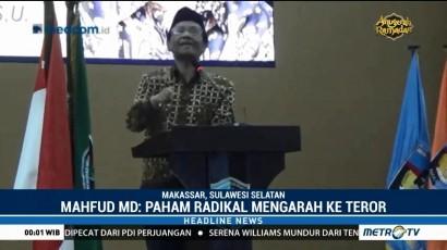 Mahfud MD Imbau Kampus Waspadai Paham Radikal