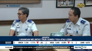 Truk Dilarang Lintasi Tol Jakarta-Cikampek Saat Arus Mudik