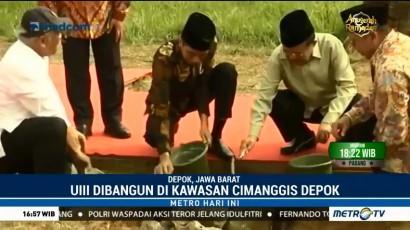 Jokowi-JK Letakkan Batu Pertama Pembangunan UIII