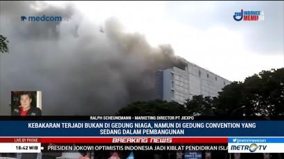 Gedung Terbakar di Area PRJ akan Digunakan untuk Asian Games