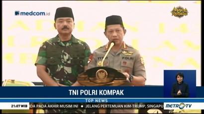 Potret Kekompakan TNI dan Polri