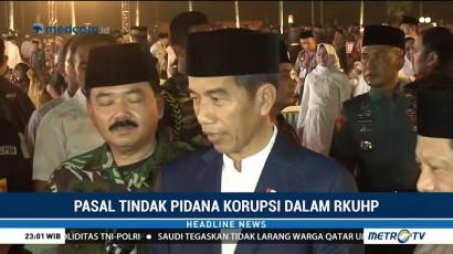 Jokowi Terima Surat Penolakan Pasal Tipikor Masuk RKUHP