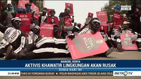 Aktivis Kenya Protes Pembangunan Pembangkit Listrik Tenaga Batu Bara