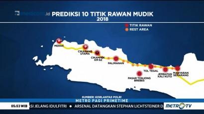 Waspadai Sepuluh Titik Rawan Kemacetan di Pulau Jawa