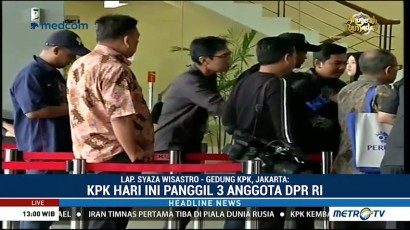 Kasus KTP-el, Tamsil Linrung Tak Penuhi Panggilan KPK