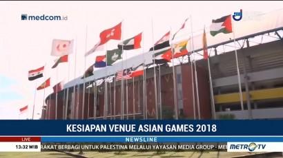 Kesiapan Venue Asian Games 2018 di Palembang