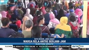 Permohonan KTP-el di Bogor Membludak