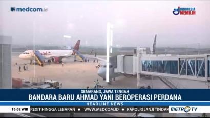 Terminal Baru Bandara Ahmad Yani Mulai Beroperasi