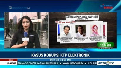 KPK Periksa Olly dan Azis Syamsuddin Terkait Korupsi KTP-el
