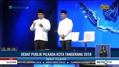 Debat Publik Pilkada Kota Tangerang 2018 (6)