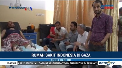 Melihat Kondisi Rumah Sakit Indonesia di Gaza