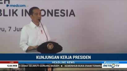 Jokowi Ajak Petani di Indramayu Tak Lagi Menjual Gabah