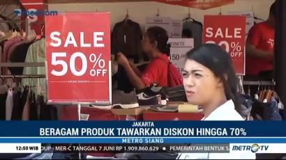 Berbagai Merek Tawarkan Diskon Besar di Jakarta Fair 2018