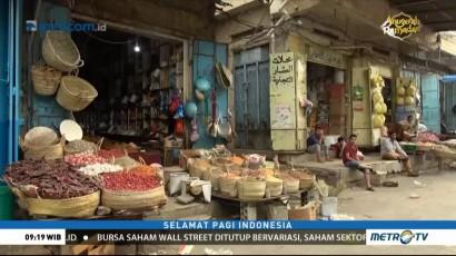 Pasar Al Shaini Sepi Pembeli Akibat Perang di Yaman