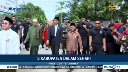 Jokowi Kunjungi Tiga Kabupaten dalam Sehari
