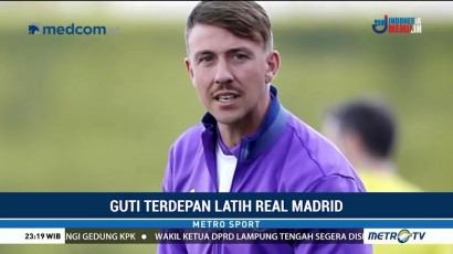 Guti Terdepan Latih Real Madrid