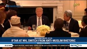 Iftar at White House, Switch from Anti-Muslim Rhetoric