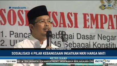 Wakil Ketua MPR Sosialisasi Empat Pilar Kebangsaan di Kutai Timur