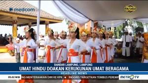 Ribuan Umat Hindu di Lampung Rayakan Kuningan