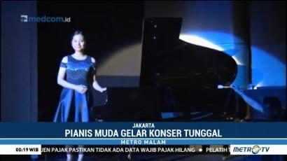 Pianis Michelle Wijaya Gelar Konser Amal untuk Korban Bom Surabaya