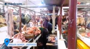Stabil, Harga Daging dan Sayuran di Pasar Senen