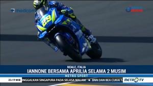Andrea Iannone Resmi Gabung Aprilia