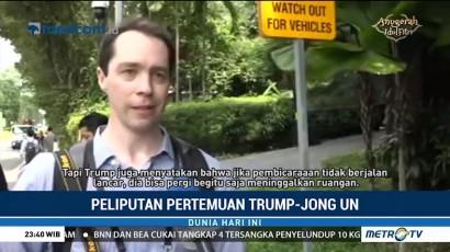 3 Ribu Jurnalis Liput Pertemuan Trump dan Jong-un