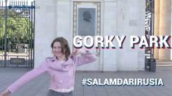 Jalan-jalan Santai di Gorky Park, #SalamdariRusia