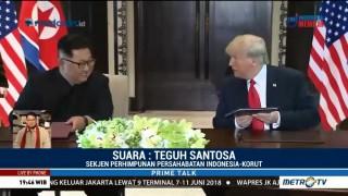 Jong-un Bertemu Trump, Bangsa Korut Disebut Cinta Damai