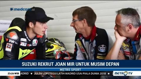 Suzuki Rekrut Joan Mir untuk Musim Depan