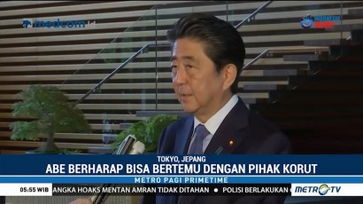 PM Jepang Terima Pernyataan Tertulis Denuklirisasi dari Kim Jong-un