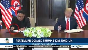 Momen-momen Pertemuan Trump dan Jong-un yang Jadi Viral