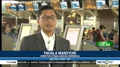 Garuda Indonesia Siapkan 150 Ribu Kursi Ekstra untuk Lebaran
