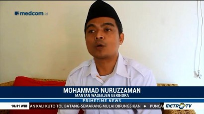 Hengkang dari Gerindra, Nuruzzaman: Fadli Zon Tak Beretika