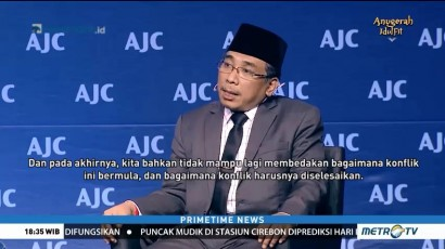 Yahya Staquf Tawarkan Solusi Konflik