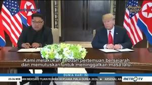 Pertemuan Trump dan Kim Dinilai Simbolis