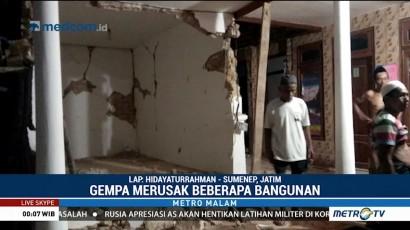 Gempa 4,8 SR Guncang Sumenep, Sejumlah Rumah Rusak