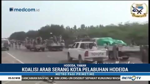 Koalisi Arab Serang Kota Pelabuhan Hodeida